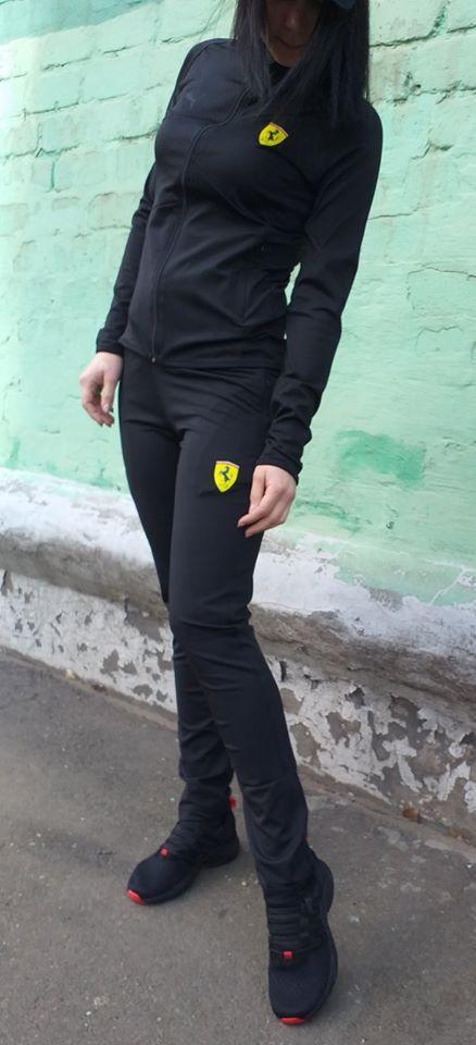 Костюм женский спортивный Puma Ferrari(ластик)