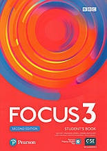 Учебник  Focus 2nd ed 3 Student's book