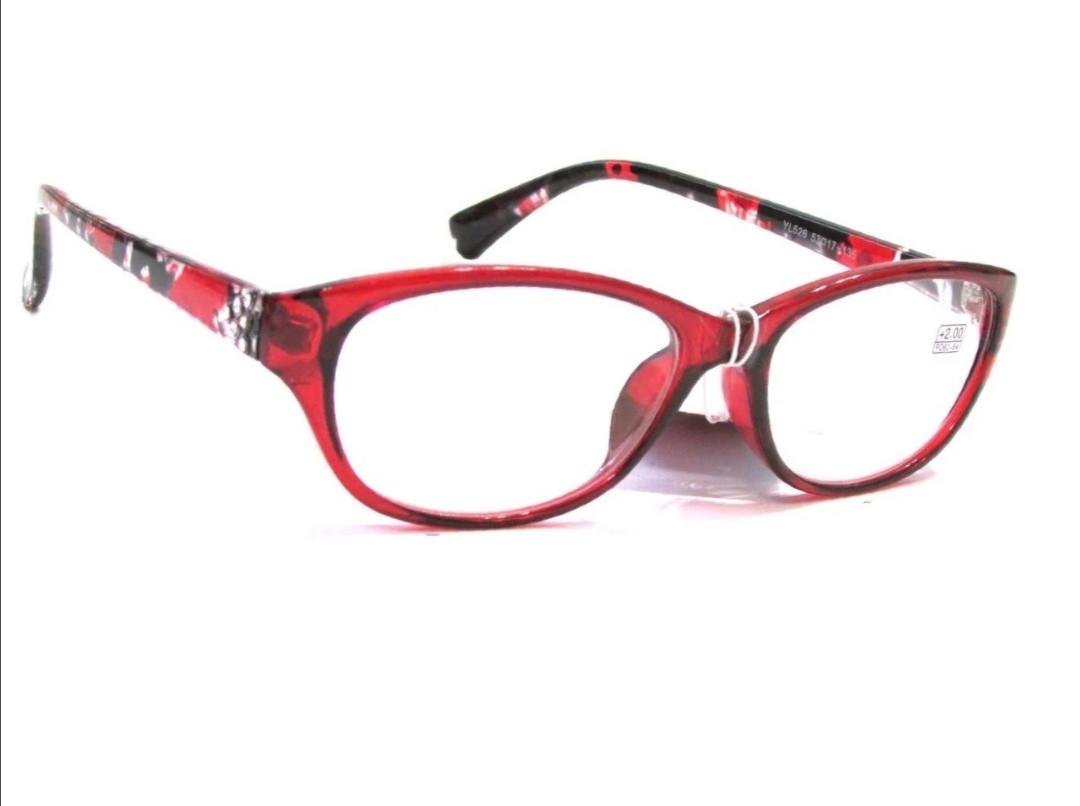 Женские очки для зрения, пластик