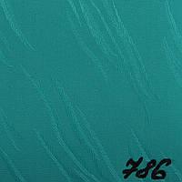Вертикальные жалюзи Ткань Orestes Зелёный 786