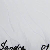 Вертикальные жалюзи Ткань Sandra (Сандра) Белый 5701