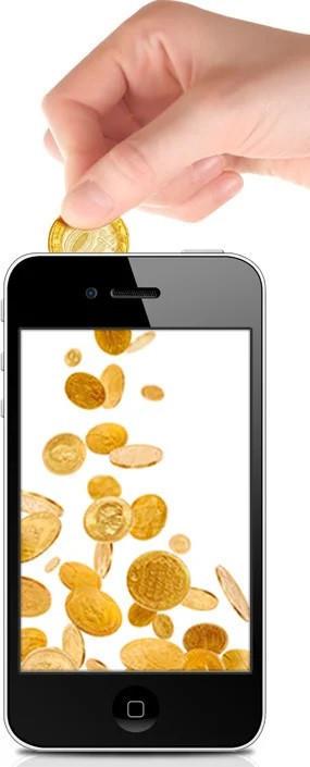 Пополнение мобильного телефона 158 грн
