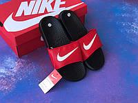 Сланцы/шлепки Nike(красные)/ шлепки/ тапки найк/шлепанцы/тапочки