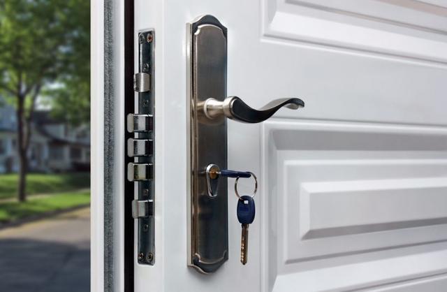 защита входной двери фото