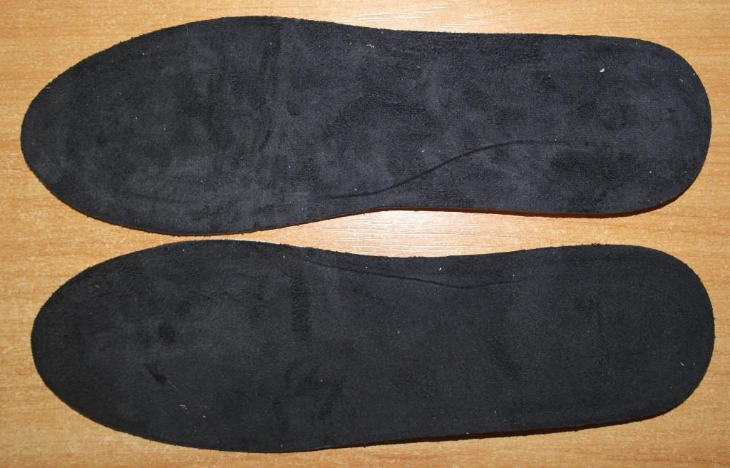 Стельки ортопедические с замшевым нанесением