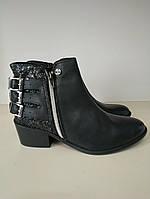 Ботинки женские демисезонные кожаные размер 36 41