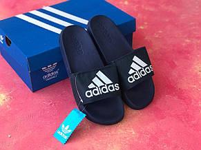 Сланцы Adidas шлепанцы мужские Синие, фото 2
