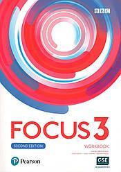 Рабочая тетрадь  Focus 2nd ed 3 Work book