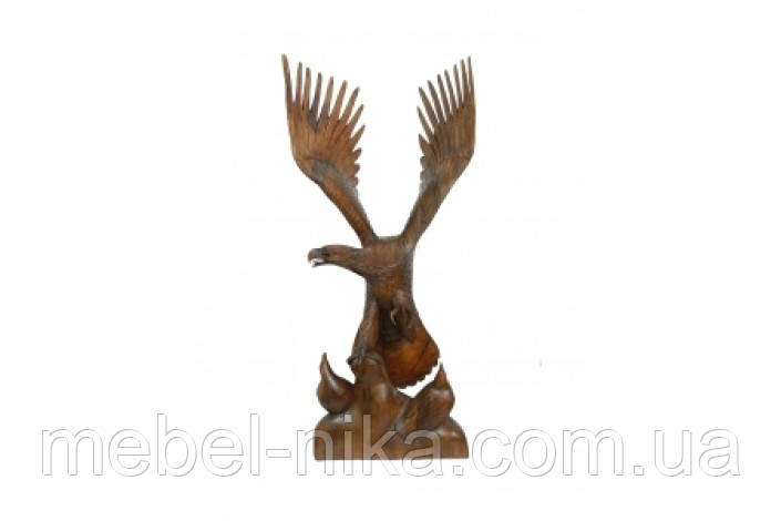Орел с двумя орлятами, дерево суара (ФА-ос-73)