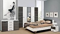 Спальня Круїз комплект з 3Д шафою. Світ Меблів., фото 1