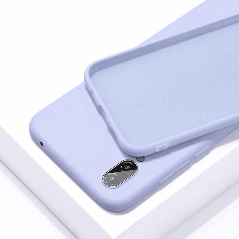 Силиконовый чехол SLIM на Samsung Note 9 Lilac