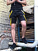 Шорты карго мужские Off White Scarstrope half черные - Фото