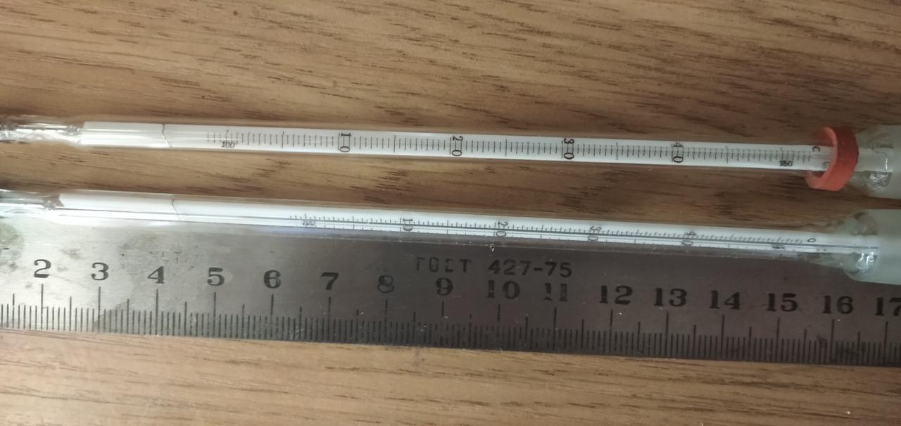 Термометр лабораторный ТЛ 33(+100 °C+150 °C),возможна калибровка в УкрЦСМ