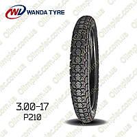 Покрышка 3.00-17 P210 Wanda