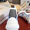 Бело-голубые кроссовки Louis Vuitton, фото 5