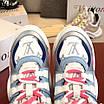 Бело-голубые кроссовки Louis Vuitton, фото 7