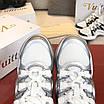 Серебрянные кроссовки Louis Vuitton, фото 3
