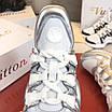 Серебрянные кроссовки Louis Vuitton, фото 4