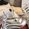 Серебрянные кроссовки Louis Vuitton, фото 7