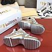 Серебрянные кроссовки Louis Vuitton, фото 8