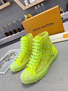 Кислотные кеды Louis Vuitton