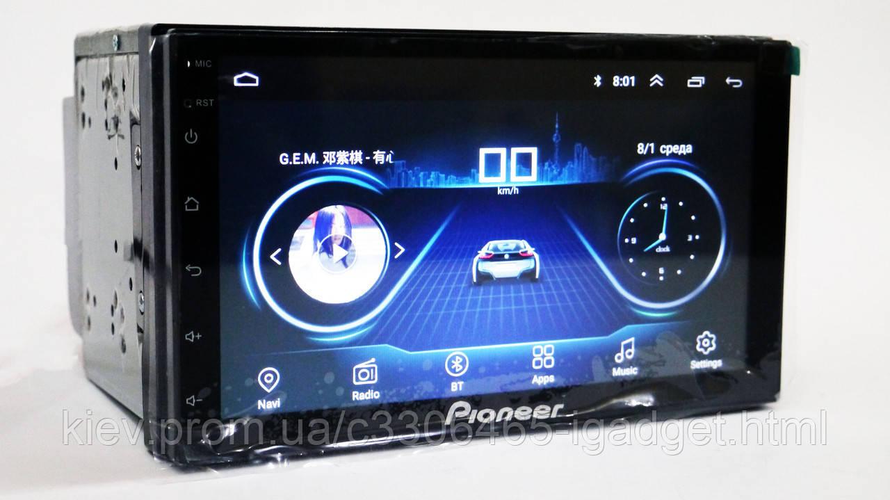 Автомагнитола Android Pioneer 4S или pi 707 2 Din