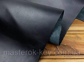 Кожа натуральная обувная Спил Конь т.1-1,3мм (Плотная) цвет Черный