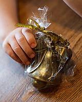 Новогодние игрушки и украшения - Съедобная шоколадная фигурка Колокольчик - молочный шоколад