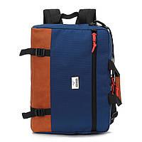 "Сумка-рюкзак для ноутбука 15,6"" 430х300х80мм KINGSLONG (KLM1340R BL)"