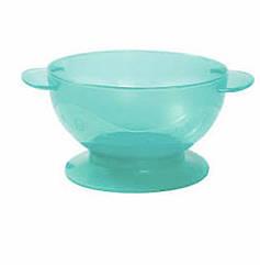 Тарелка для кормления  на присоске Lindo 300мл  PK 033