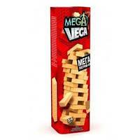 Настольная игра Mega Vega деревянные бруски 54 шт Джанга Вежа Башня от Данкотойс Украина