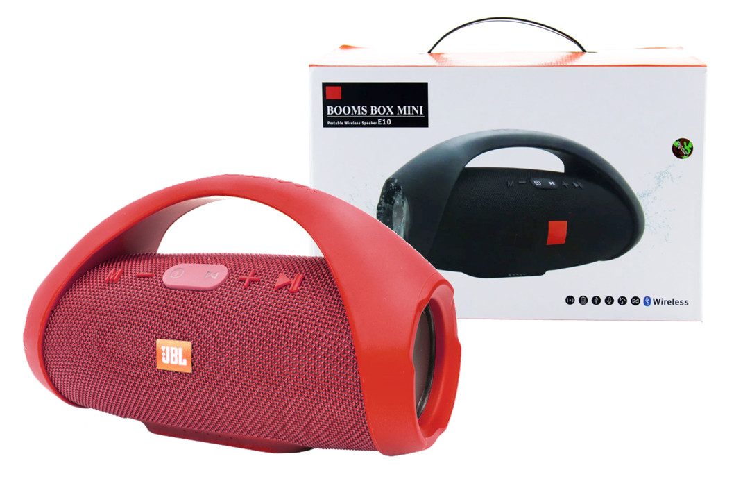 Портативная колонка JBL BOOMBOX mini E10 (Красный)