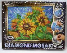 Алмазная мозаика, живопись, набор креативного творчества DIAMOND MOSAICʺ DM-02