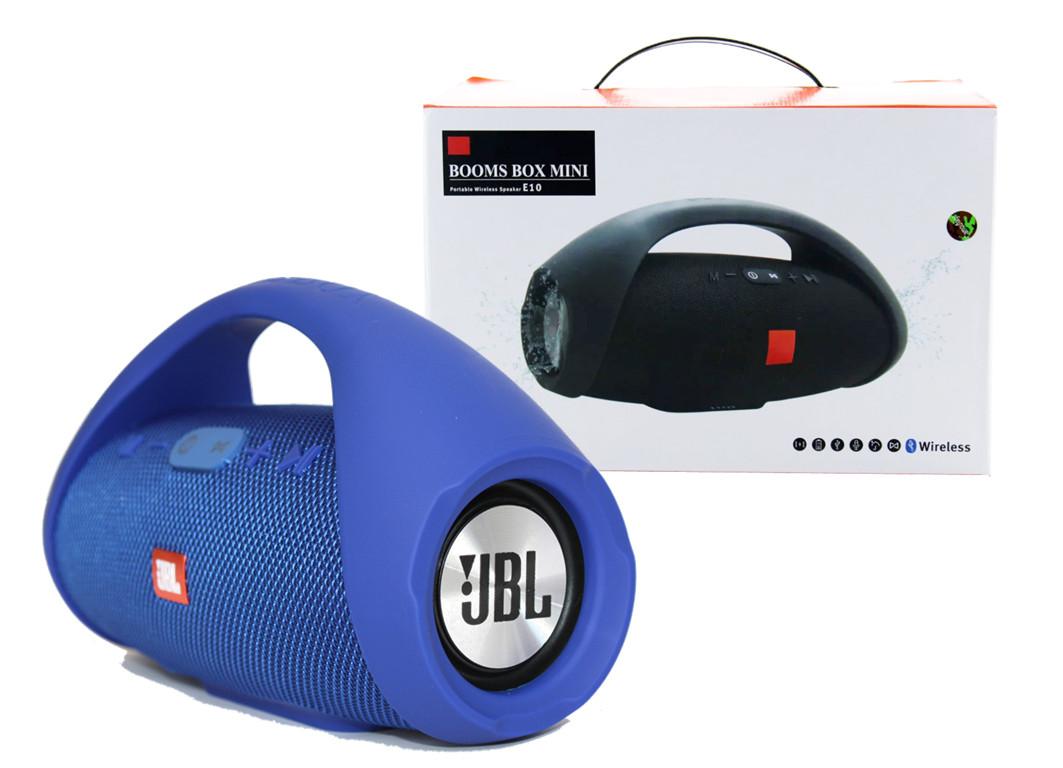 Портативная колонка JBL BOOMBOX mini E10 (Синий)