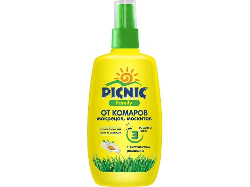 Лосьйон від комарів 100 мл Picnic Family ТМ PICNIC
