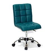 Кресло офисное  на колесах  AUGUSTO  СН-OFFICE  экокожа , зеленый 1002