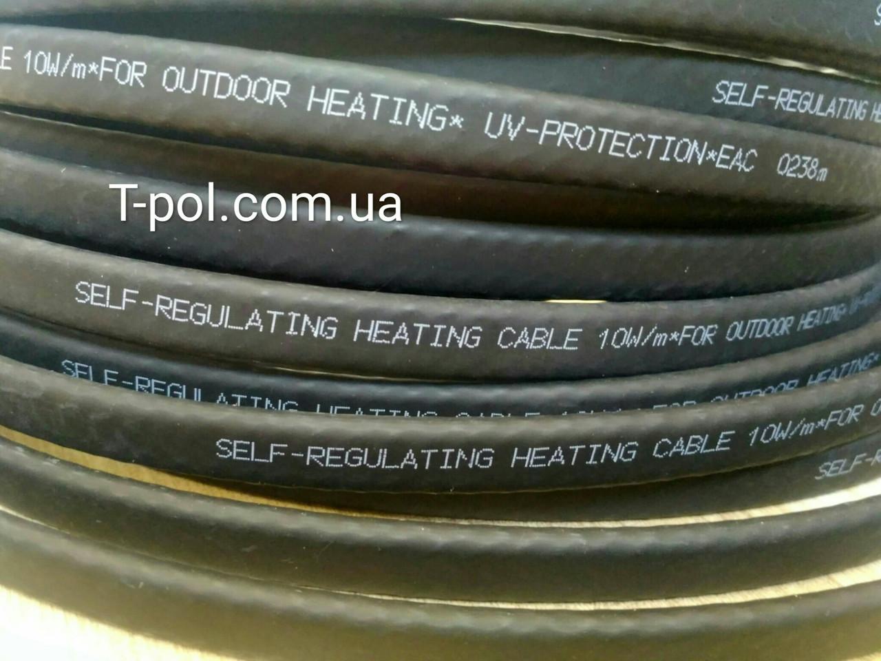 Саморегулируемый кабель srl10-2cr 10w
