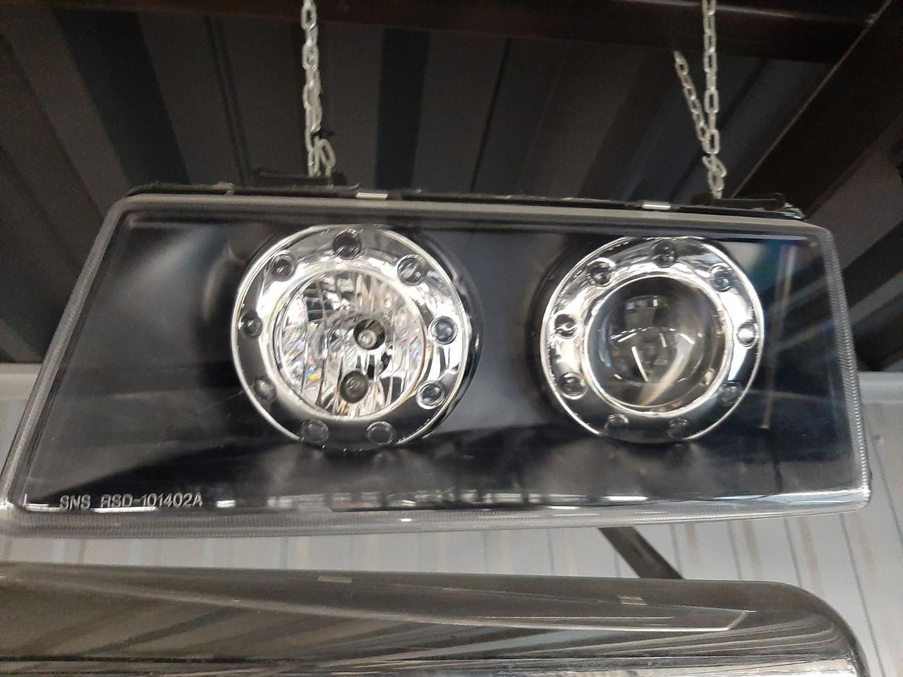 Фара ВАЗ 2110 Prosport,светодиодный,тюнинг (комплект) ЧЕРНЫЙ!!!