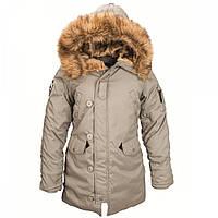 Зимняя женская куртка аляска  Alpha Industries Altitude W Parka WJA44503C1 (Alaska Green)