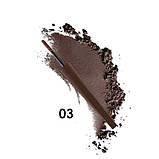 PARISA Пудра для брів CP-01 dark chocolate 04, фото 4