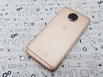 Задняя крышка Motorola G5s Plus XT1805 золото Сервисный оригинал с разборки