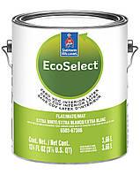 КРАСКА ECOSELECT Zero VOC Interior Latex FLAT (Глубокоматовая), Extra White, Sherwin Williams (3,78 л)