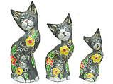Семья котов с котятами, 4 цвета (кн-160, кн-161, кн-162), фото 2