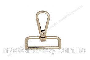 Карабин сумочный 65-028 38мм цвет Золото