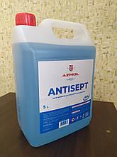 Антисептик для дезинфекции Antisept Азмол санитайзер 5 литров