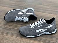 Шкіряні+замша чоловічі кросівки R 16 сер розміри 41,42, фото 1