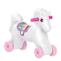 Лошадка-качалка DOLU белая (2509)