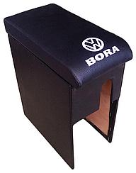 Подлокотник Volkswagen Бора (1998-2005) с вышивкой