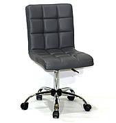 Кресло офисное  на колесах  AUGUSTO  СН-OFFICE  эко кожа , серый в- 1001