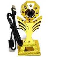 Web camera веб камера WC-HD (квітка)